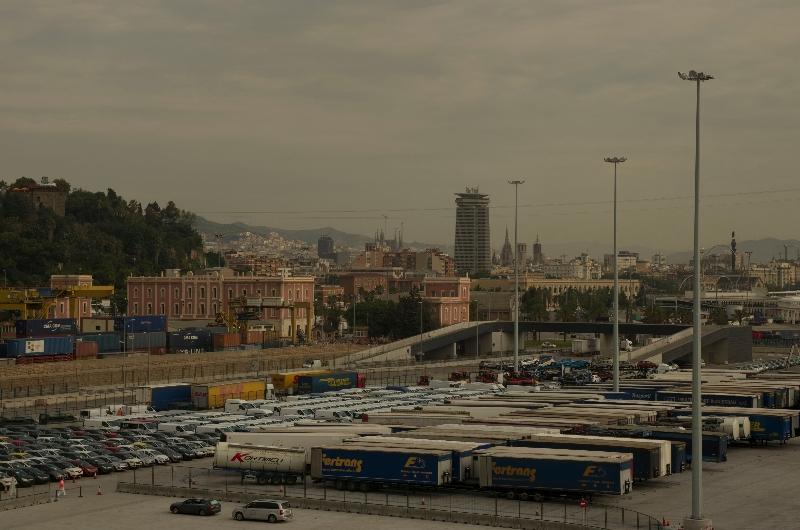 Barcelona - letzter Blick
