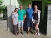 Vor dem Lemon House mit Anne & Peter